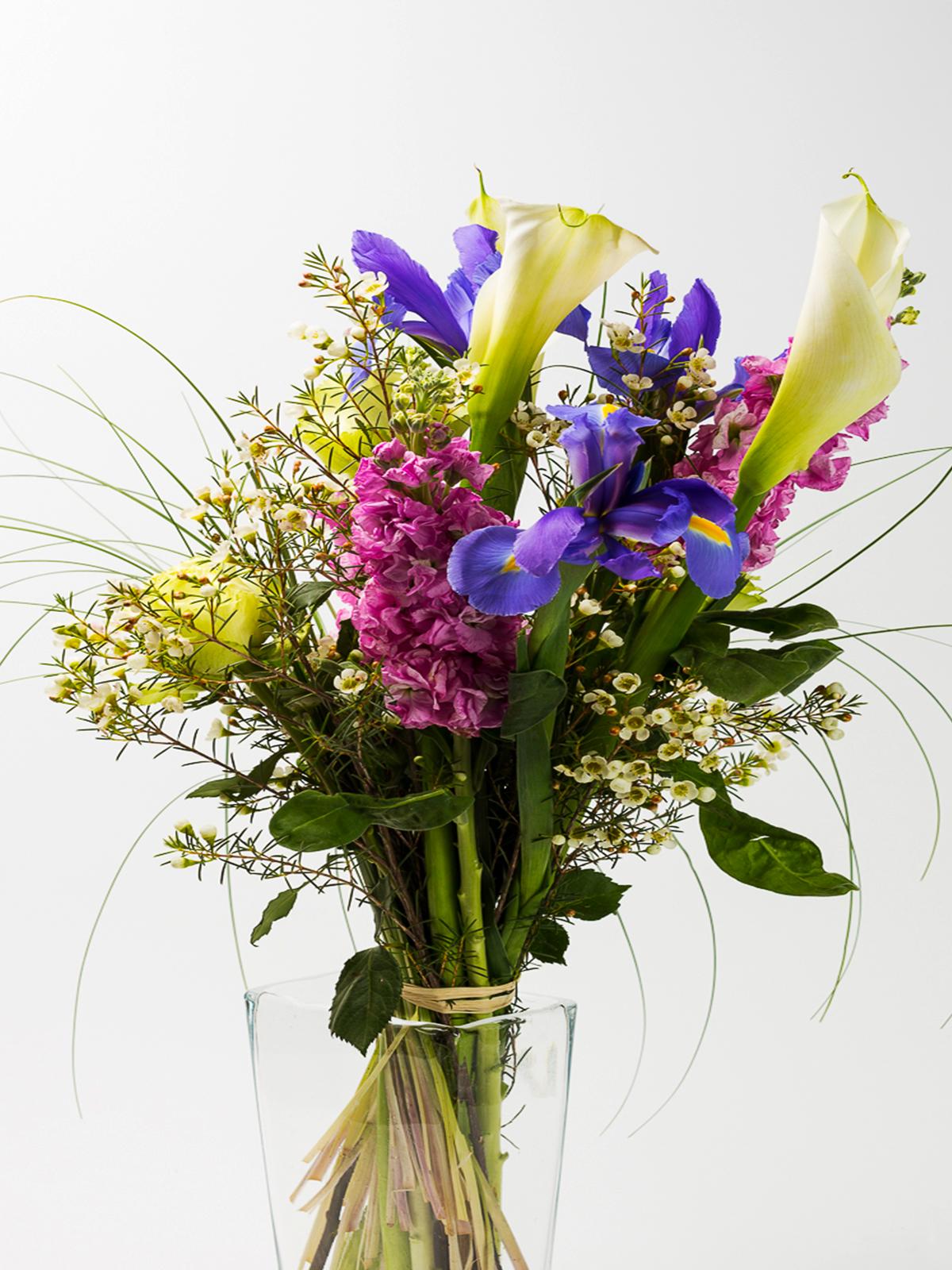 Mazzo di fiori a gambo lungo capoverde uno spazio da - Immagini di fiori tedeschi ...